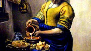 La lattaia di Vermeer - Copia 100% a mano- Falsi d