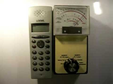 Strahlung eines DECT Telefons