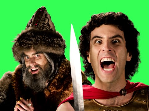 Alexander the Great vs. Ivan the Terrible - ERB Behind the Scenes
