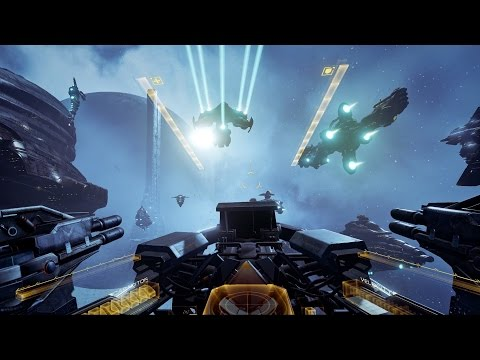 EVE: Valkyrie VR Gameplay Trailer Pre-Alpha - Fanfest 2015