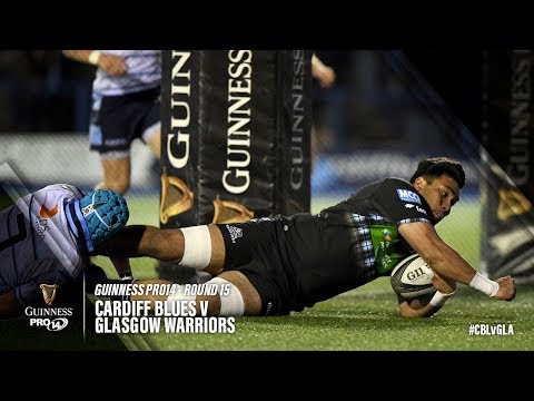 Guinness PRO14 Round 15 Highlights: Cardiff Blues V Glasgow Warriors