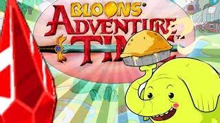 TAJEMNICZY CZERWONY KLEJNOT | #004 | Bloons Adventure Time TD | PL