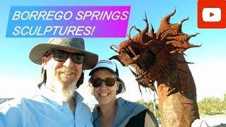 Borrego Springs Sculptures! - Fiberglass RV Life
