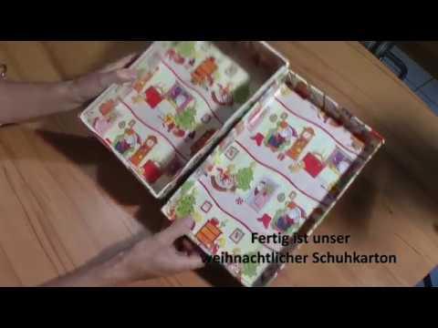 Geschenke hoffnung weihnachten schuhkarton