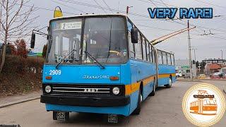 Sofia Trolleybuses | Ikarus 280.92T #2909 on line 2
