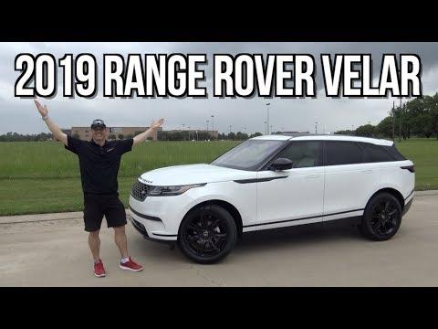 Luxury Midsize SUV: 2019 Land Rover Range Rover Velar on Everyman Driver - 동영상