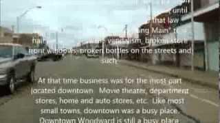 Crusing Main Street Woodward Oklahoma