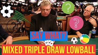 Know Nothing About Mixed Triple Draw Lowball?