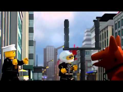 Lego City Police Episode 2 : Rocket Cash [ Lego.com ]