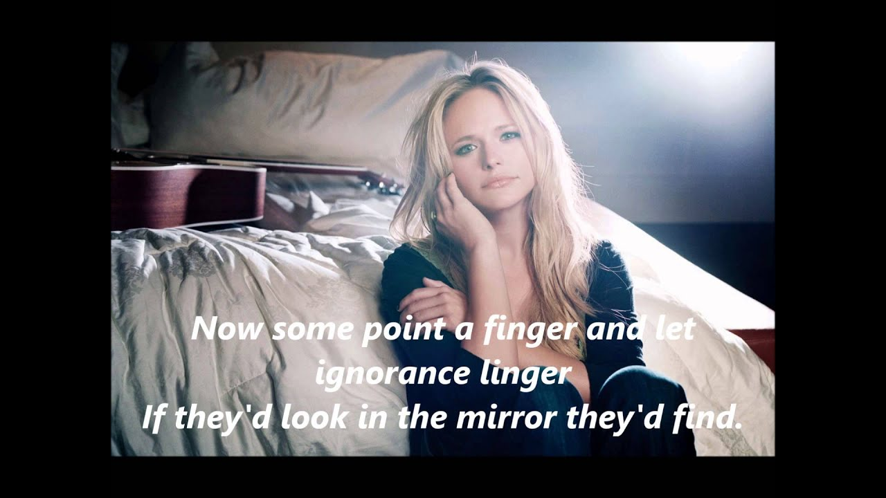 Miranda Lambert All Kinds of Kinds with Lyrics - YouTube