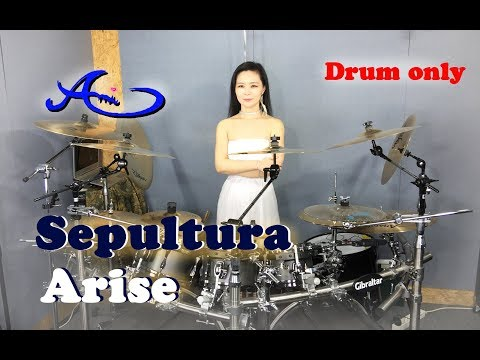 Sepultura - Arise Drum only (cover by Ami Kim){35th-2}