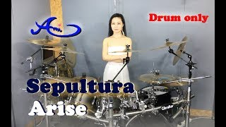 Download Video Sepultura - Arise Drum only (cover by Ami Kim){35th-2} MP3 3GP MP4