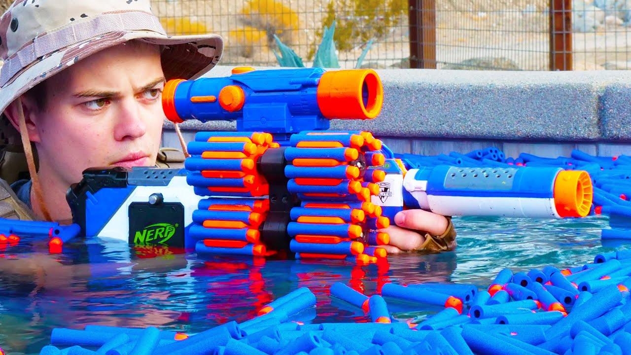 Download Nerf War: 8 Million Subscribers