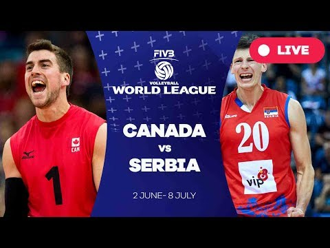 Canada v Serbia - Group 1: 2017 FIVB Volleyball World League