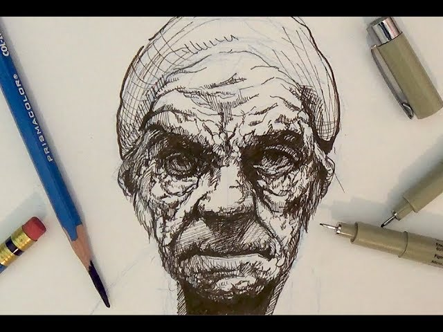 Scribble Pen Drawing : Pen drawing templates free psd ai eps format downlad