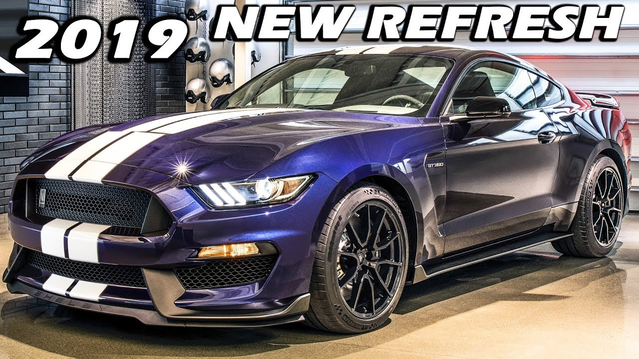 Ford Unveils The All New 2019 Shelby Gt350 Refresh