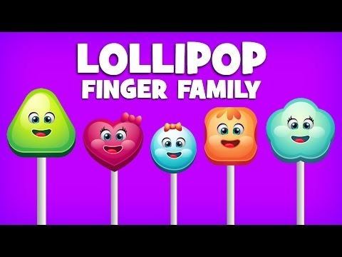 Finger Family Collection | 5 Lollipop Finger Family Songs | Daddy Finger Nursery Rhymes