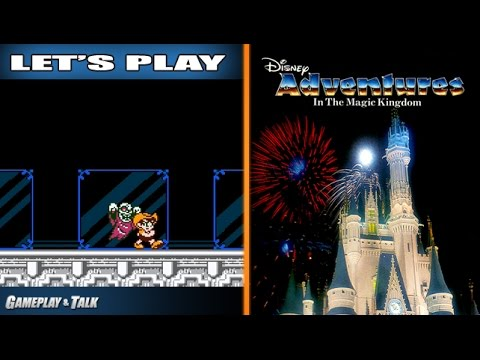 Let's Play Adventures in the Magic Kingdom for the NES