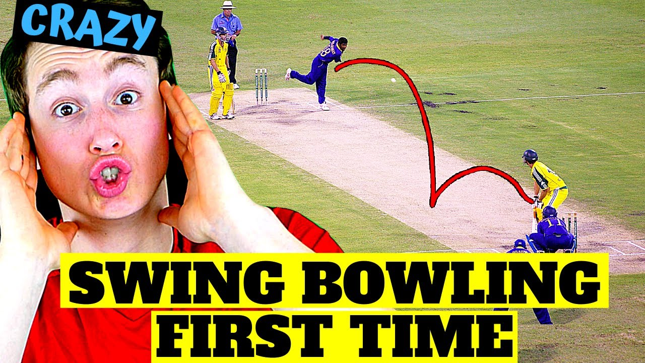 AMERICAN REACTS TO SWING BOWLING (magical...)