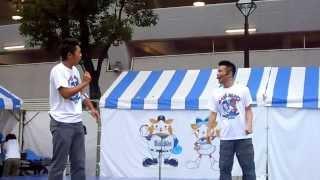 """2013年8月25日、横浜DeNAベイスターズのイベント、""""勝祭""""の最終日のスペ..."""