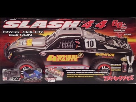 traxxas-slash-4x4-greg-adler-edition-rc-sct-unboxing