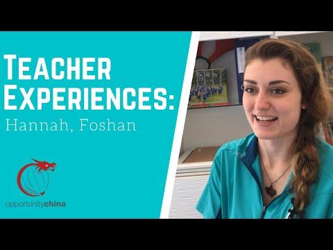Life as a Teacher in Foshan, China!