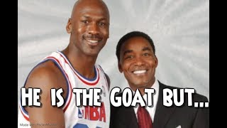 How Isiah Thomas changed his Mind on Michael Jordan over the years