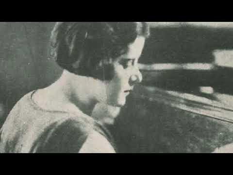 Guiomar Novaes plays Albeniz-Godowsky Tango (1927)