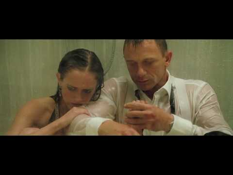 James Bond Shows His Softer Side (Casino Royale Shower Scene)