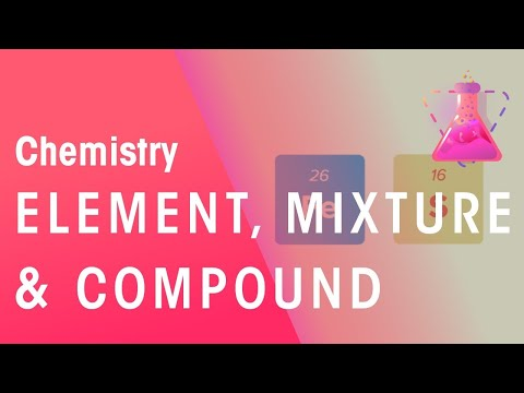 What Is An Element, Mixture And Compound?   Properties of Matter   Chemistry   FuseSchool