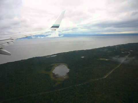 *Rough Landing at Ted Stevens International in Anchorage Alaska and survived