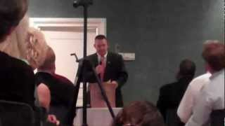 Patrick White speaks at York County GOP forum