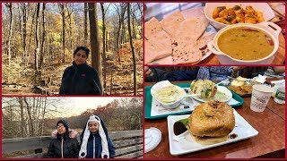 Weekend Fun With Friends In New Jersey | Prepared Simple Indian Lunch
