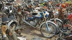 Bob's used cycle parts Rye salvage yard find