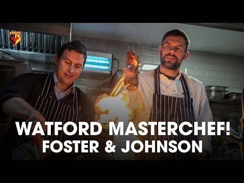WHO IS WATFORD'S MASTERCHEF CHAMPION⁉️ | FT BEN FOSTER, RICHARD JOHNSON & SALIHA MAHMOOD AHMED