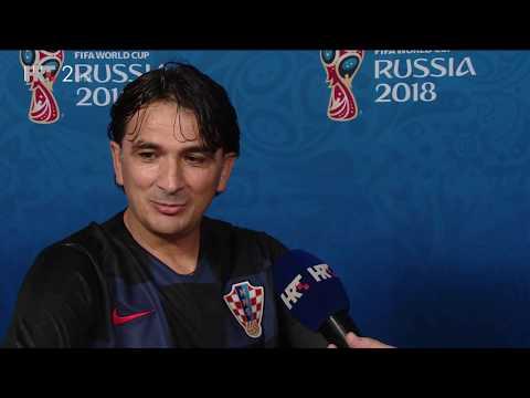 Zlatko Dalic nakon pobjede, Hrvatska je u finalu! Hrvatska - Engleska 2:1