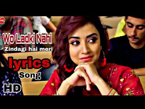Woh Ladki Nahi Zindagi Hai Meri | Emotional Crush Love Story -New Hit Romantic Song (Hindi Punjabi)