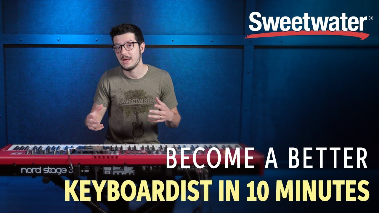 How to Become a Better Keyboardist in 10 Minutes