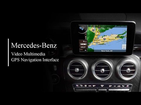 Video multimedia GPS Navigation Interface for.Mercedes Benz