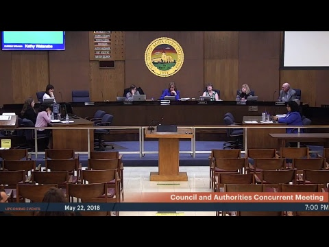Council and Authorities Concurrent and Stadium Authority Meeting 20180508