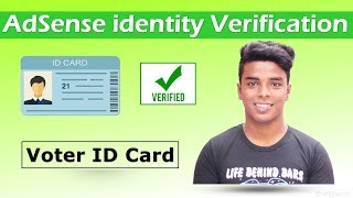 AdSense identity Verification Full Guide in Hindi (Voter ID Card)