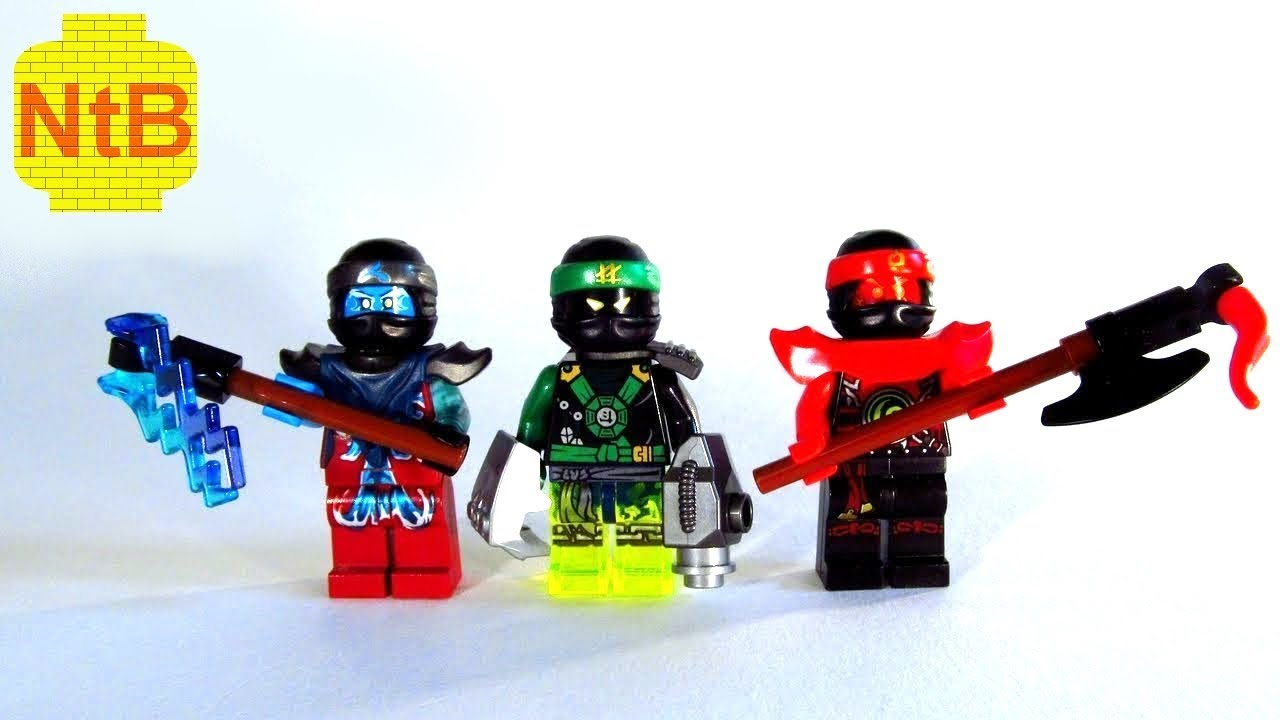 LEGO NINJAGO custom EVIL NYA, LLOYD & KAI - YouTube