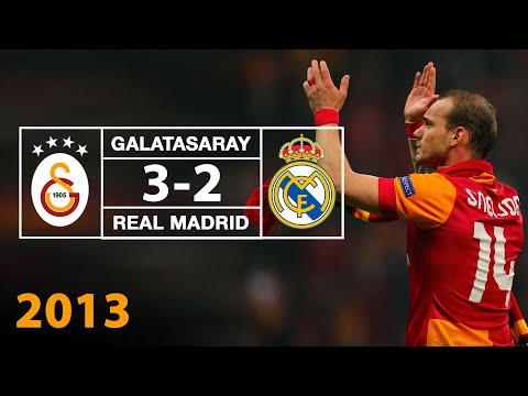 Geniş Özet   Galatasaray 3-2 Real Madrid (09.04.2013)