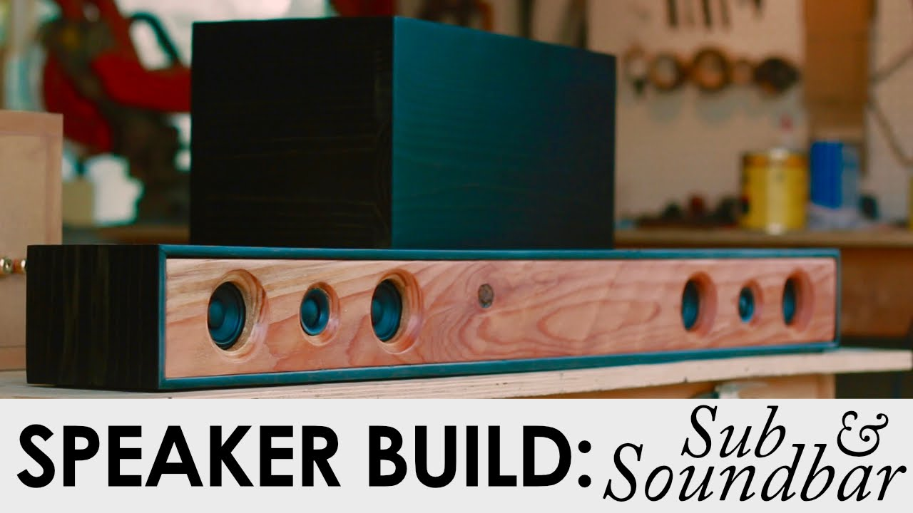 21 soundbar system with sub diy speaker build youtube solutioingenieria Gallery