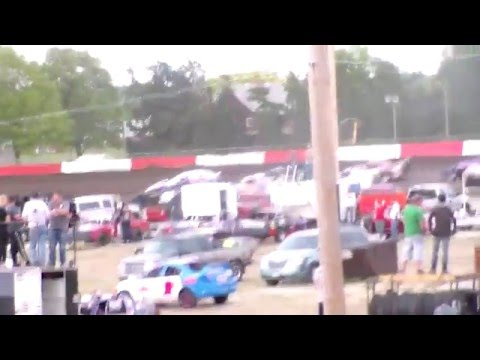 Beatrice Speedway Heat Race 5/6/16