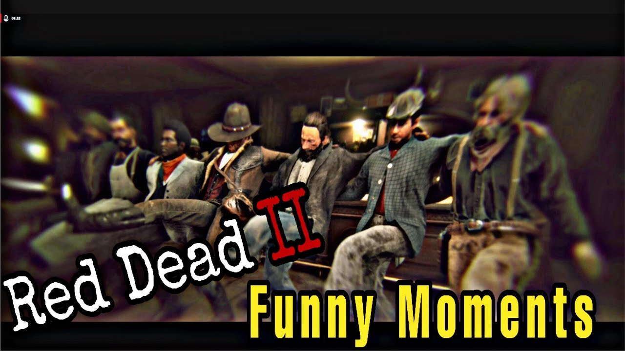Red Dead Redemption 2 PC 60 FPS GamePlay & Funny Moments