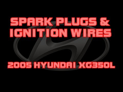 ⭐ 2005 Hyundai XG350 L - 35 - Spark Plugs And Ignition Wires - YouTube