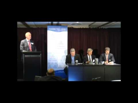 Panel   China and Australian Agriculture