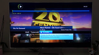 Sky on Demand - Review & Funktionen - hier am Sky+ HD Reciever mit Festplatte