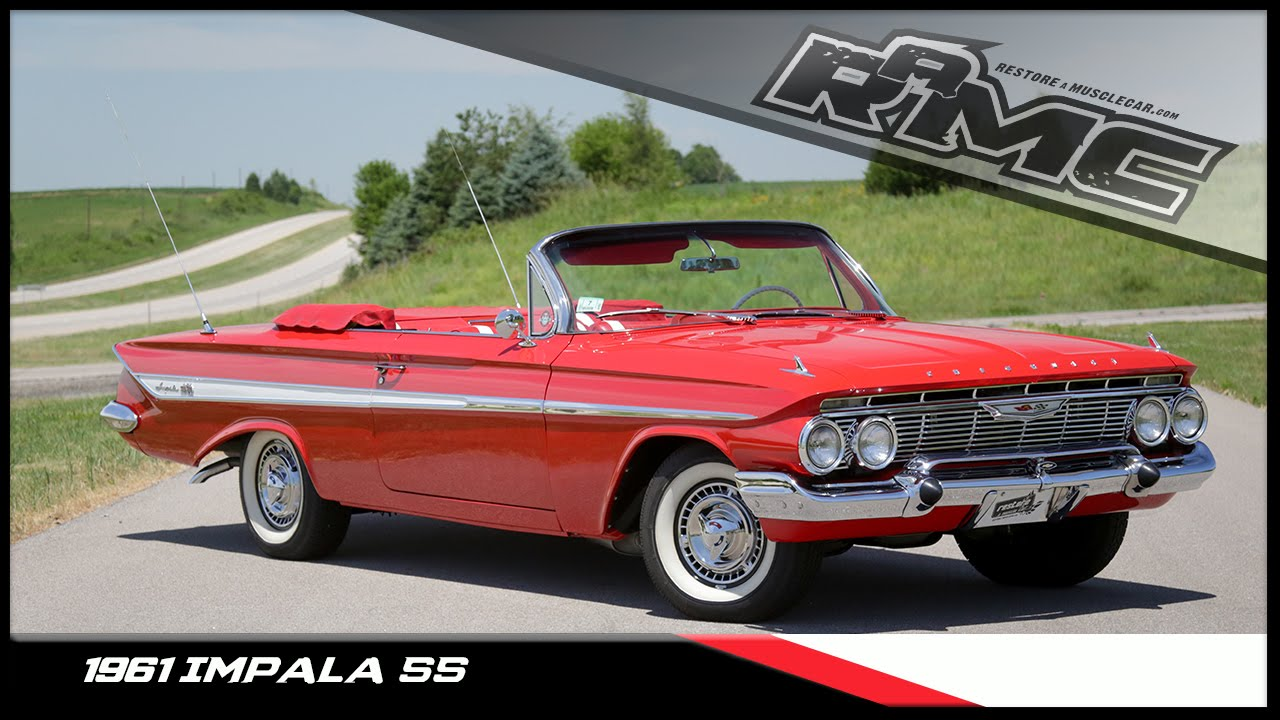 medium resolution of 1961 convertible impala ss for sale